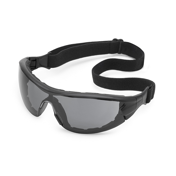 Gateway Safety Swap® Safety Glasses - Black Frame, Gray Anti-Fog ...