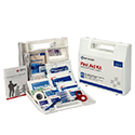 First Aid Only® 222UAC First Aid Kit- Dividers, 10 Person, 63 Piece