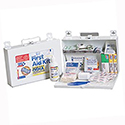 First Aid Only® 224FAC First Aid Kit- CPR Shield, 25 Person, 110 Piece, Metal