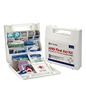 First Aid Only® 225ANAC Bulk First Aid Kit- 50 Person, 196 Piece, Plastic, Dividers