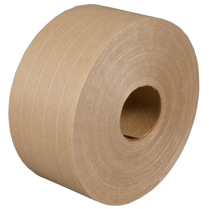holland goldbanner reinforced kraft paper tape 3 x 450 ft kraft