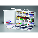 First Aid Only® 2450PAC First Aid Station- 75 Person, 516 Piece, 2-Shelf, 8 Pocket Liner