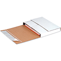 "11.125 x 8.625 x 2"" Deluxe Easy-Fold Mailer, 25 Mailers/Bundle"