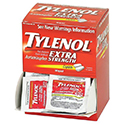 Tylenol® Extra Strength- 2 Per Package, 50 Packs/Box