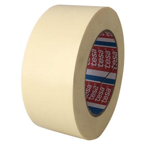 "tesa 4298 Medium Duty Strapping Tape - 1/2"" x 60 yds., Ivory, 144 Rolls/Case"