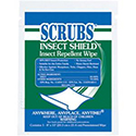 Scrubs® Insect Shield™ Insect Repellent Wipes - 100/Case