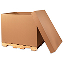 "48 x 40 x 24"" Double Wall Gaylord Bottom, 5 Boxes/Bundle"