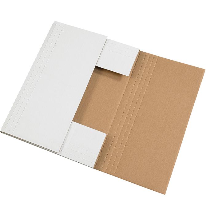 20 x 16 x 2 white easy fold mailer 50 mailers bundle bgr